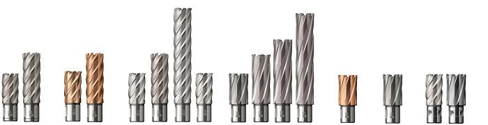 Kernbohrer für Metall