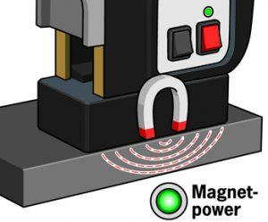 Magnetkernbohrmaschinen Magnethaltekraft indikator