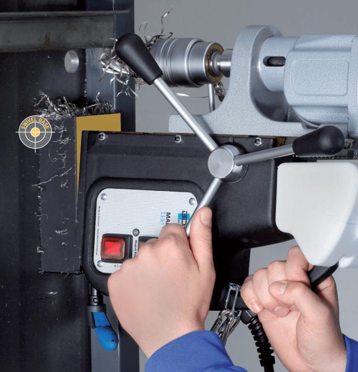 Magnetkernbohrmaschine mit Swivel Base