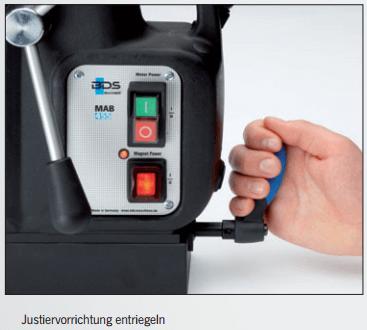 magnetkernbohrmaschine swivel base