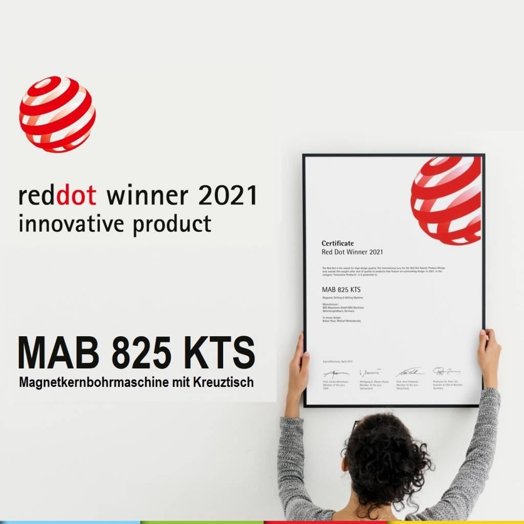 MAB 825 KTS – Gewinner des Red Dot Award 2021